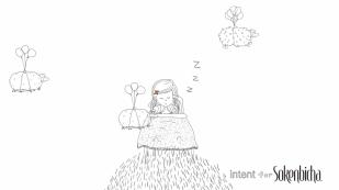 Intent for Sokenbicha Campaign - Screenshot of Animated Screensaver